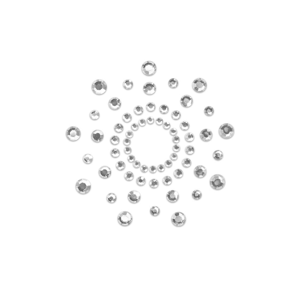 BIJOUX INDISCRETS MIMI CIRCLES - CRYSTAL CLEAR