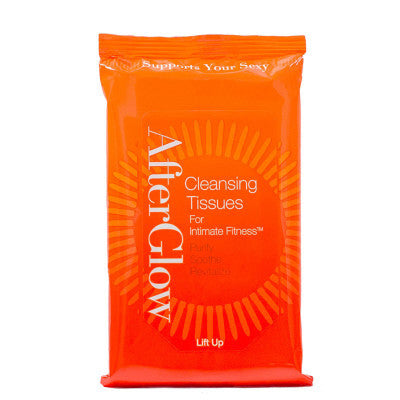 After Glow Cleansing Tissues