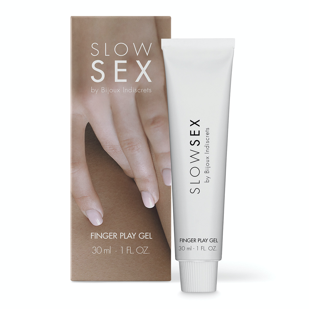 BIJOUX INDISCRETS SLOW SEX FINGER PLAY GEL 1OZ