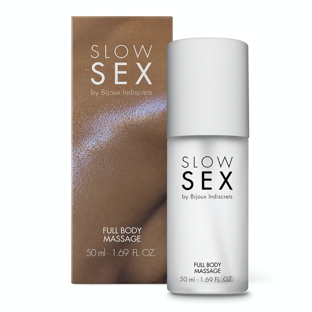 BIJOUX INDISCRETS SLOW SEX FULL BODY MASSAGE GEL 1.69OZ