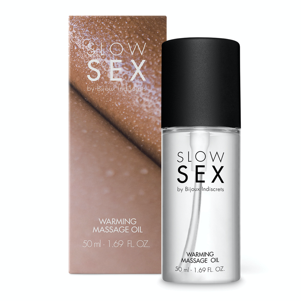 BIJOUX INDISCRETS SLOW SEX WARMING MASSAGE GEL 1.69OZ