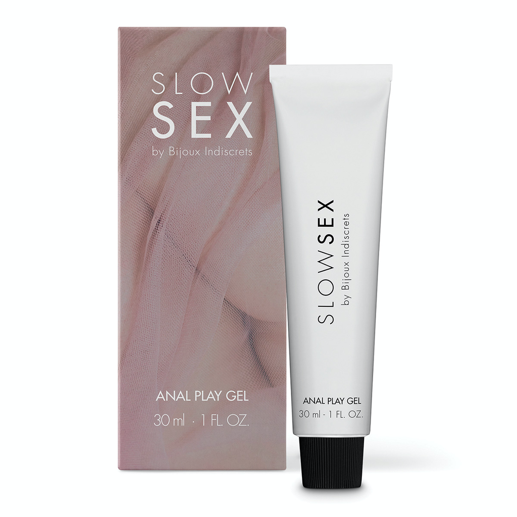 BIJOUX INDISCRETS SLOW SEX ANAL PLAY GEL 1OZ