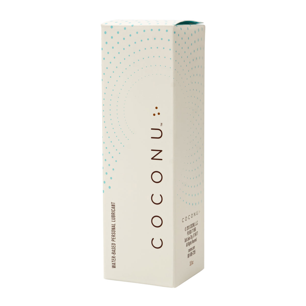 COCONU WATER-BASED ORGANIC LUBRICANT 3OZ