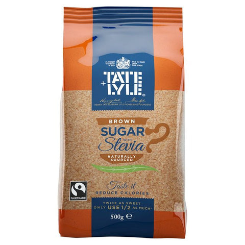 TATE LYLE  GRANULATED BROWN SUGAR (500ge)