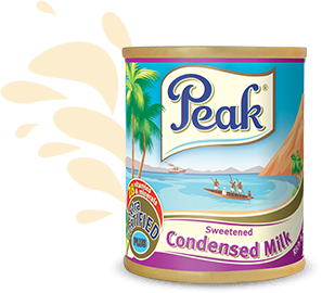 CONDENSED PEAK MILK (387 ge)