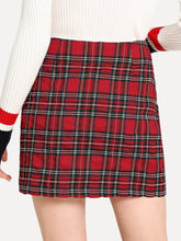 Preppy Plaid Skirt