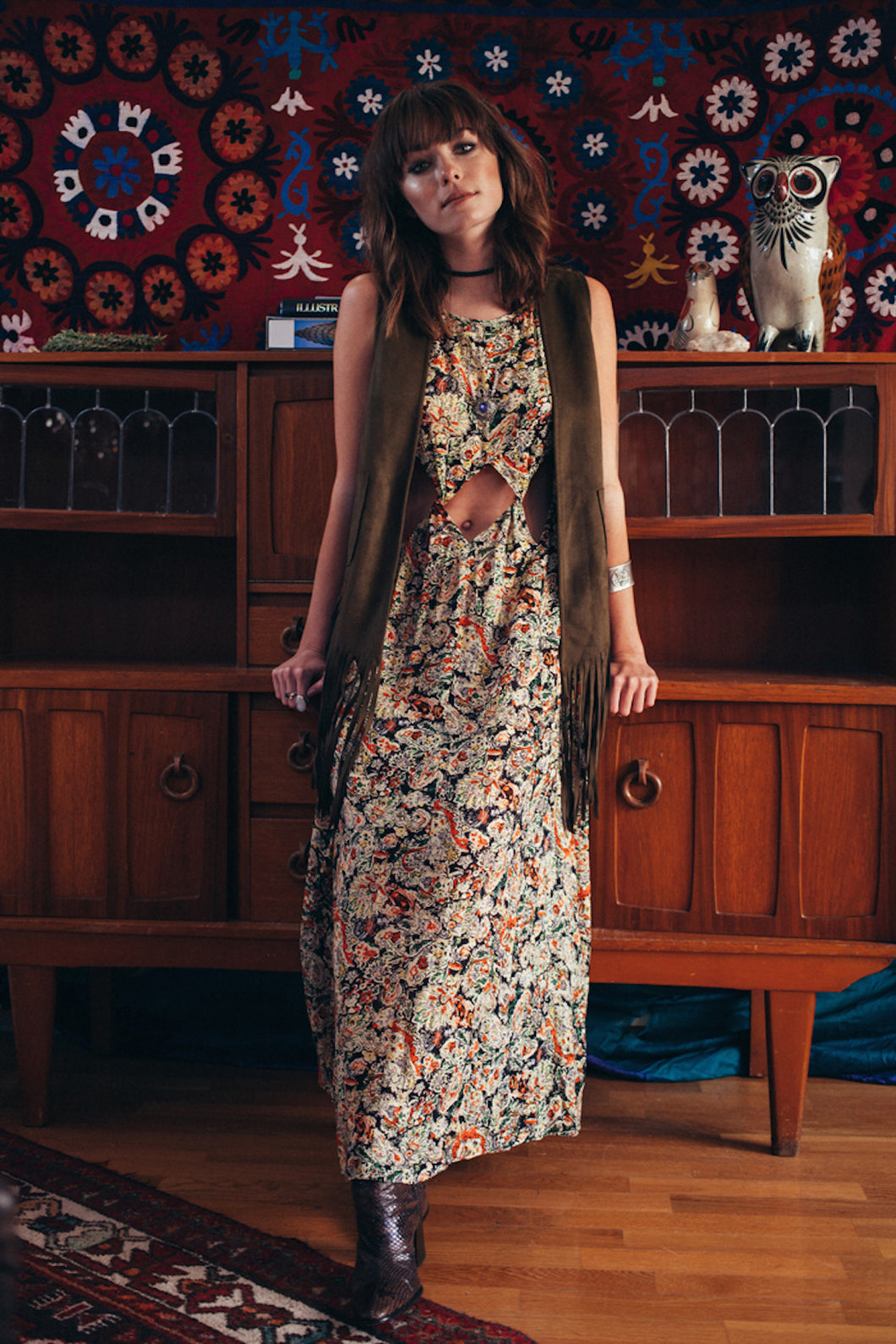 Nocturnal Affair Maxi Dress