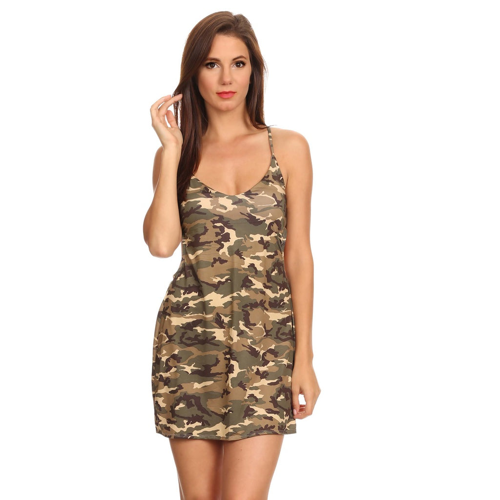 Camo Beach Cover Up