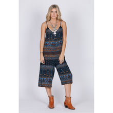 Autumn Blues Culottes Jumpsuit