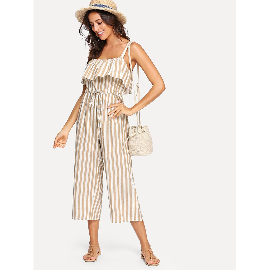 Cami Striped Jumpsuit