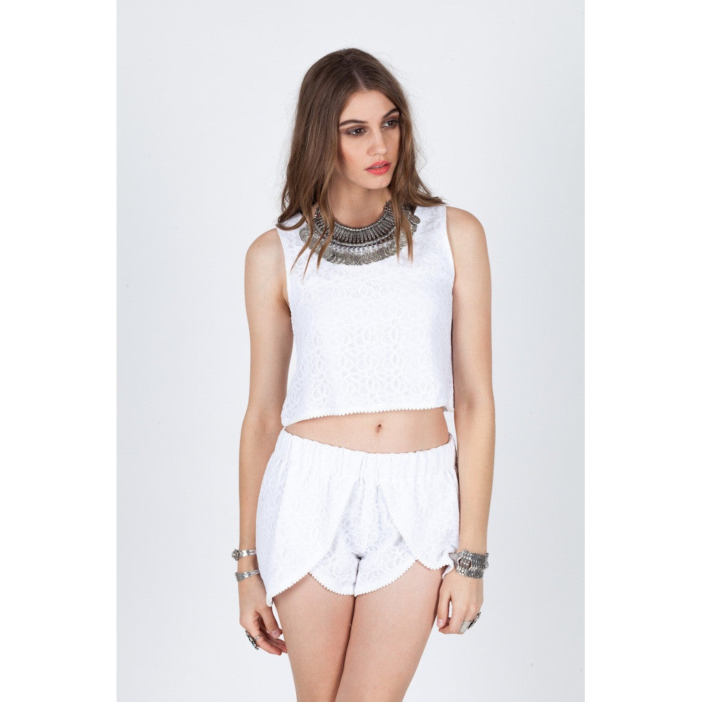 Audrey Crop Top