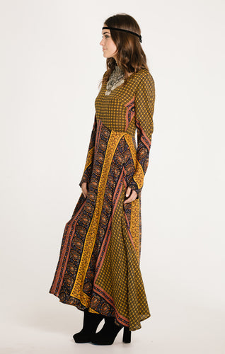 Horizon Long Sleeve Maxi Dress