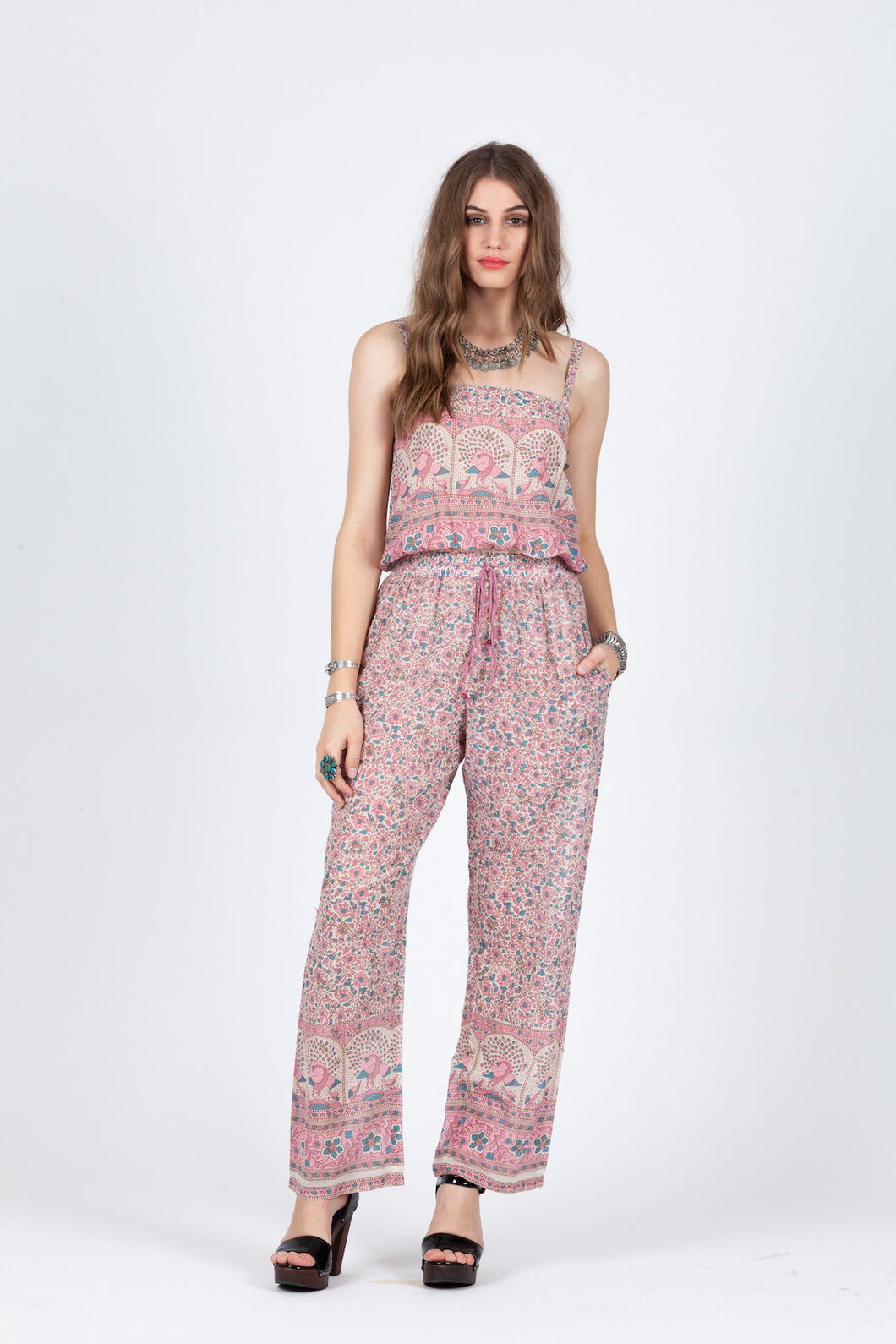 Blush Now Jumpsuit