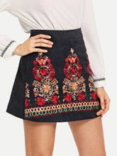 Zendeya Embroidered Skirt