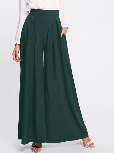 Phoebe Pleated Wide Leg Pants