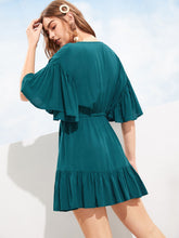 Celine Ruffle Dress