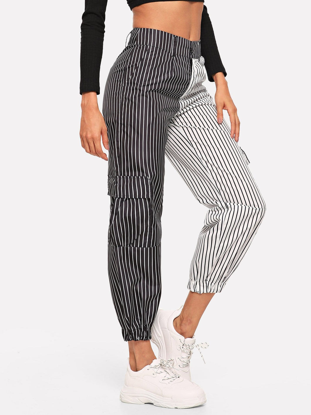 Claire Striped Pants