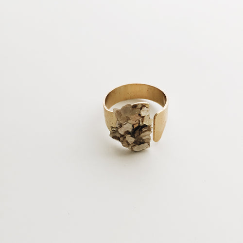 Mica Flake Ring