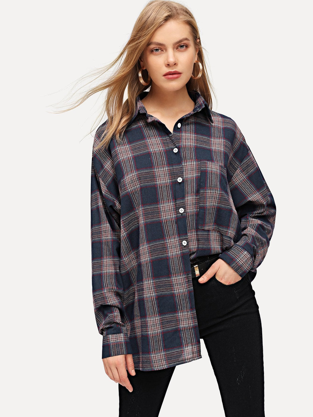 Pedra Plaid Blouse