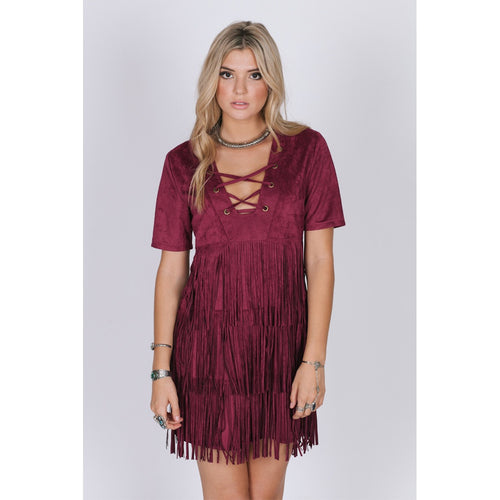 Winona Fringe Dress