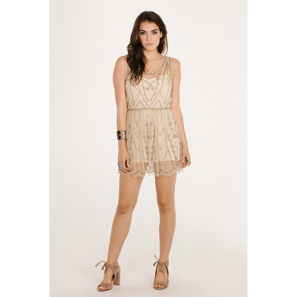 Stephanie Beaded Dress