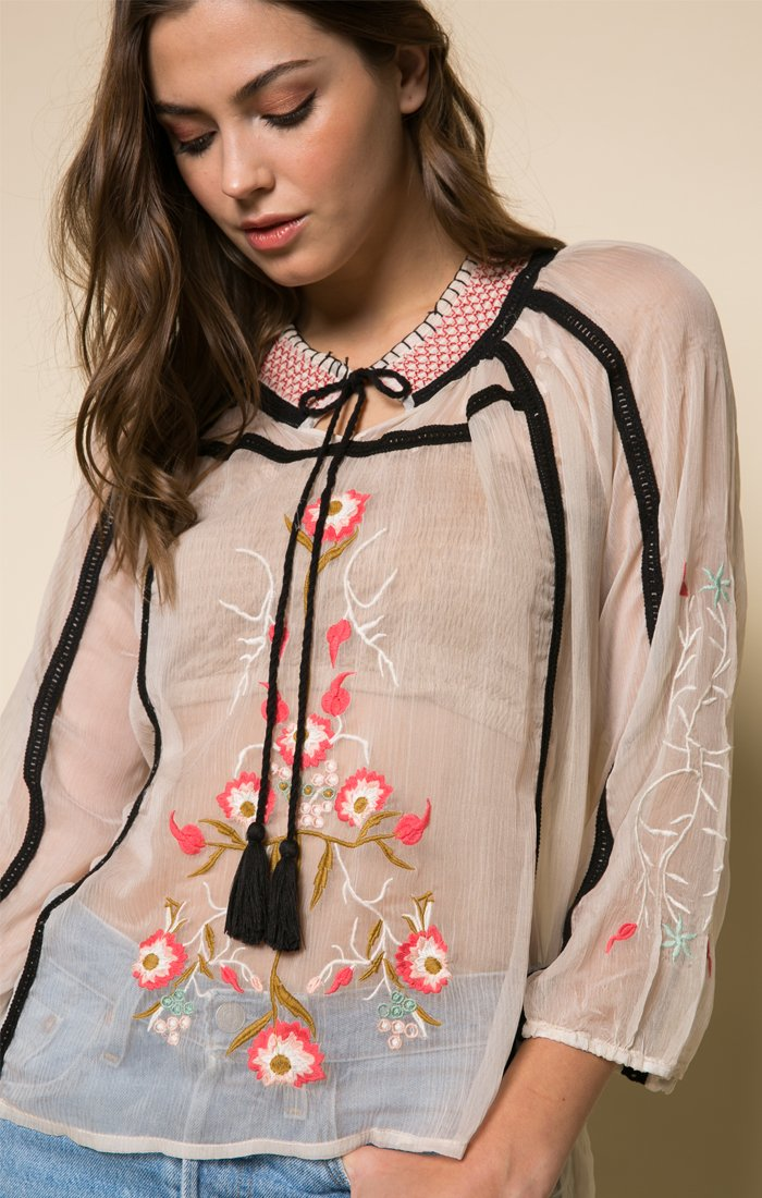 Tiger Lily Blouse