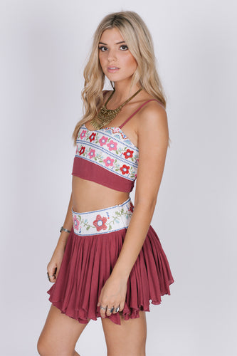 Blossoms Bralet Top