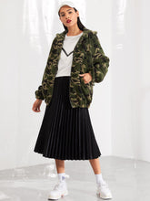 Cassie Camo Teddy Jacket