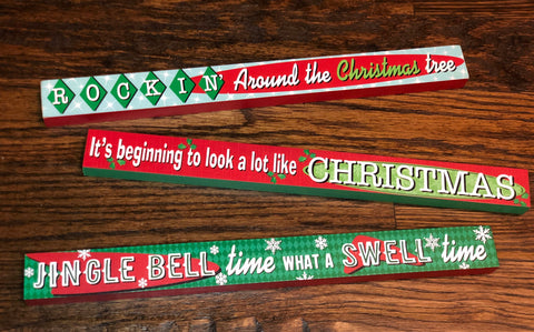 Christmas Carols Signs