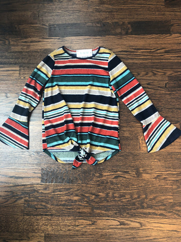 Multi Striped Colorblock Sweater