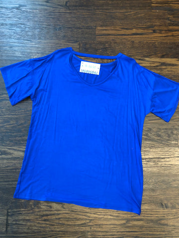 Royal Top V Cut Out Neck