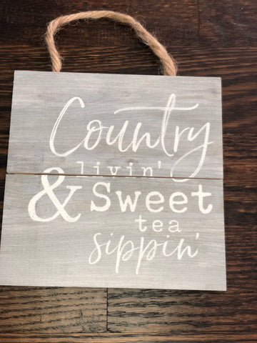 Country Livin' & Sweet Tea Silpin'