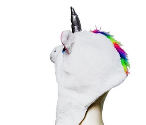 Unicorn Hat, Scarf & Gloves all in one!