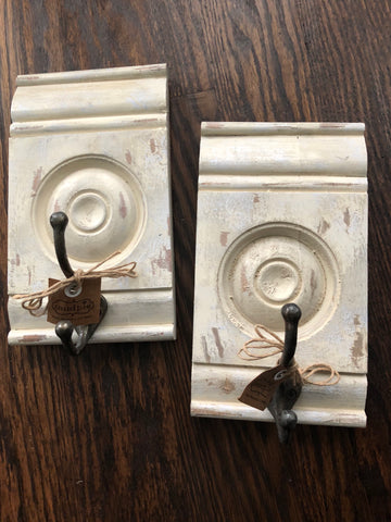 Distressed Molding Hooks