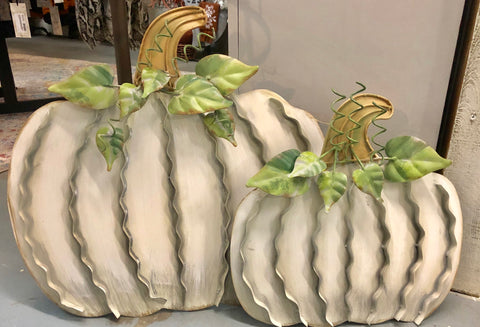Pumpkin Decor-Cream