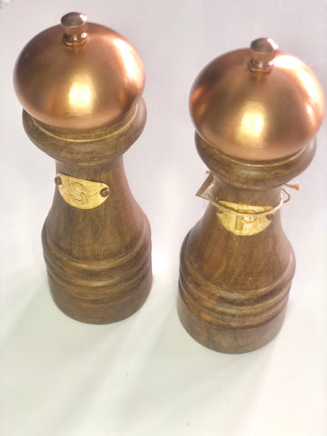 Copper Salt & Pepper Mill Set