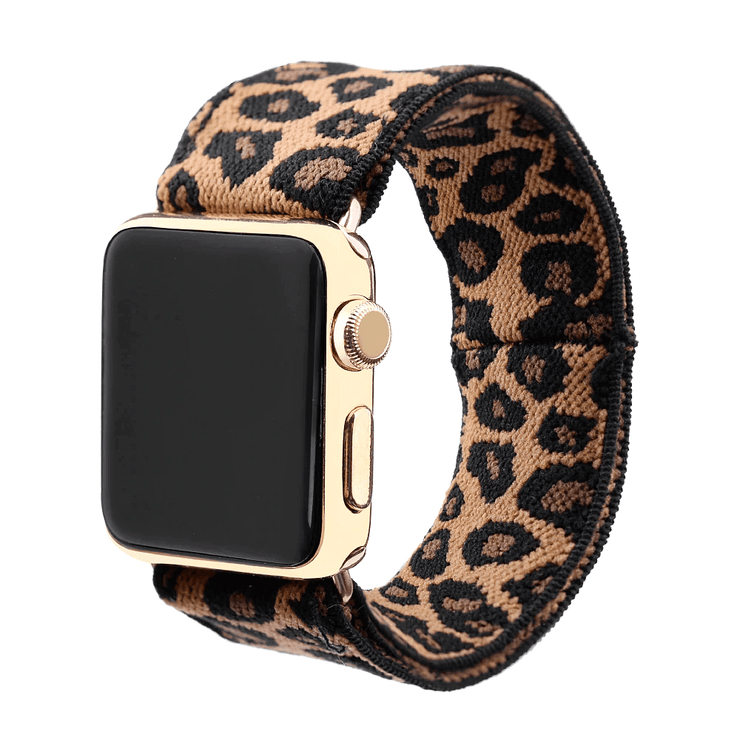Elastic Buckle Free Apple Watch Bands
