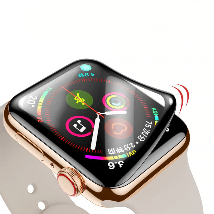 Tempered Glass Apple Watch Screen Protector