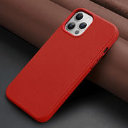 Luxury Leather Magsafe iPhone 12 Case
