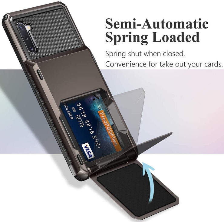 Hidden Card Slot Samsung Galaxy Note Case