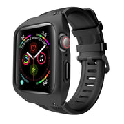 Tough Sports Apple Watch Band With Built In Case Black / 44mm (Series 4, 5, 6 & SE)