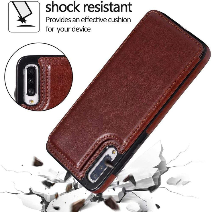 Leather Samsung Galaxy Note Wallet Case