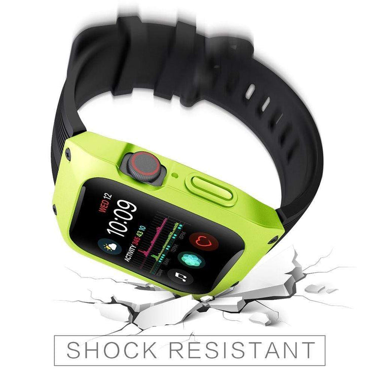 Tough Sports Apple Watch Band With Built In Case