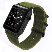 Apple Watch Double Buckle Nylon Band Army Green / 38mm/40mm
