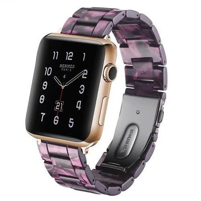 Apple Watch Limited Edition Resin Band Purple Marble / 38mm/40mm