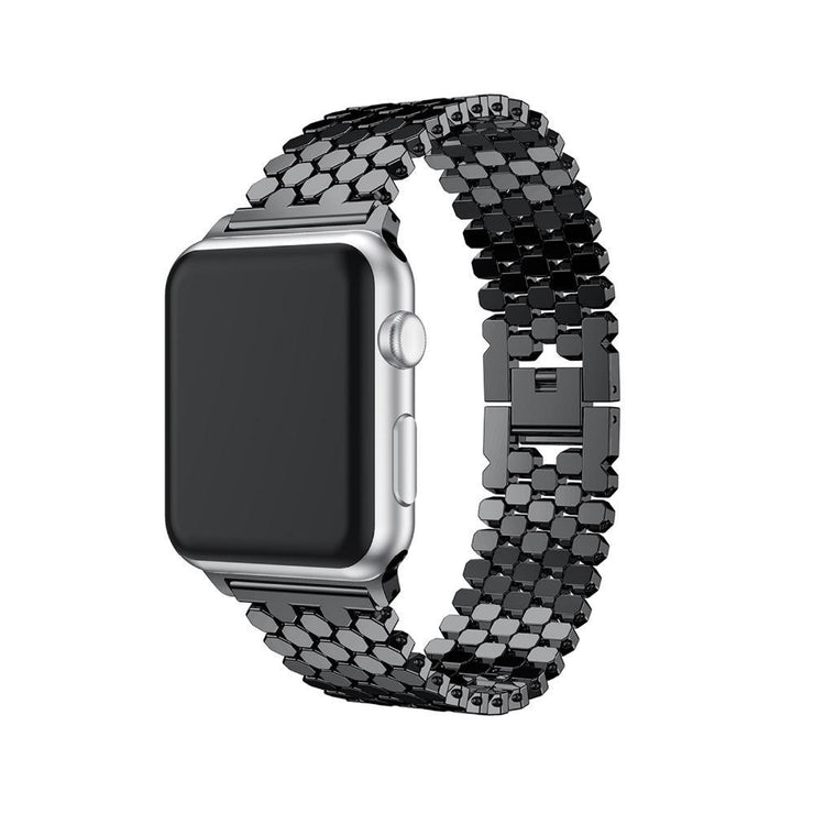 Apple Watch Link Bracelet Band Black / 38mm/40mm