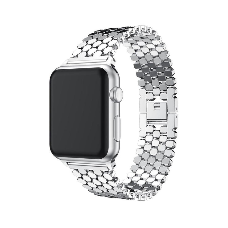 Apple Watch Link Bracelet Band Silver / 38mm/40mm