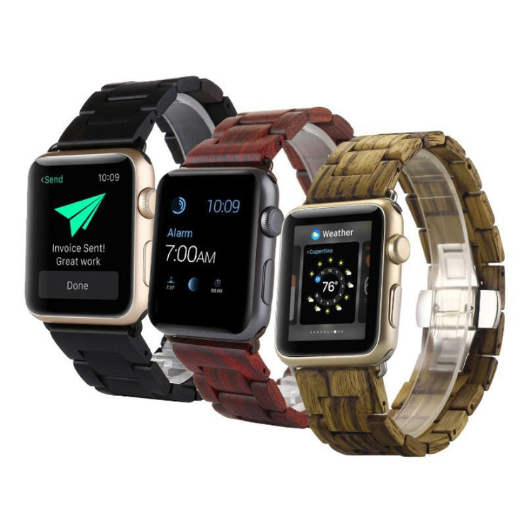 Apple Watch Natural Wooden Band