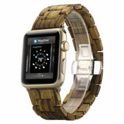 Apple Watch Natural Wooden Band Zebra Sandalwood / 38mm/40mm