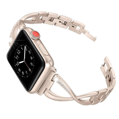 Apple Watch Rhinestone Bracelet Band Gold / 38mm/40mm